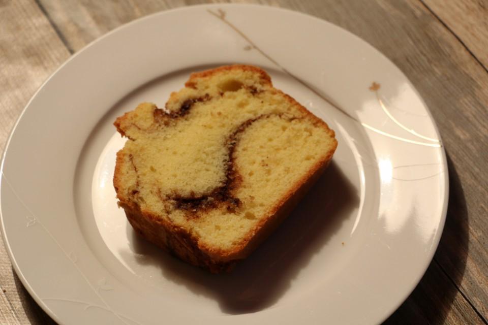 Zimtkuchen Stück