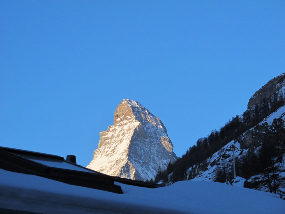 Matterhorn am Morgenfrüh