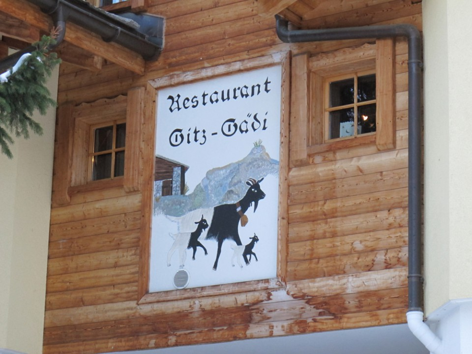 Restaurant Gitz Gädi